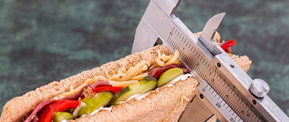 tellen van calorieen