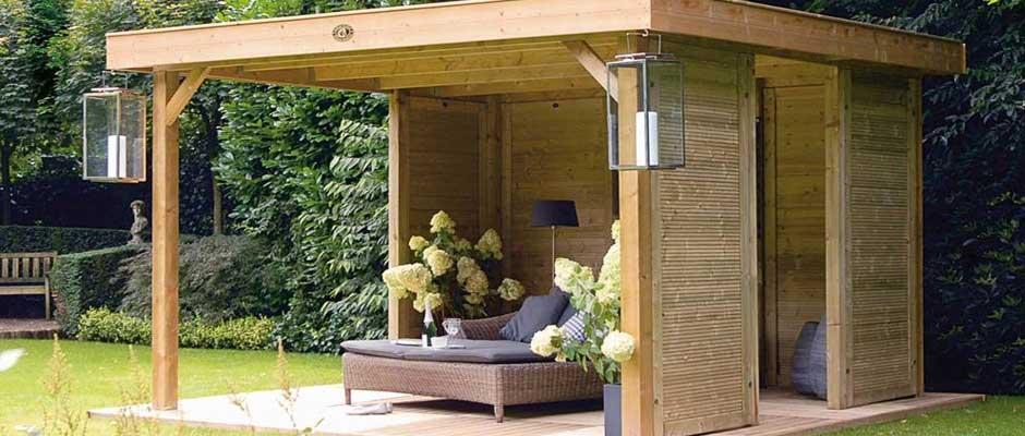 Tuinoverkapping hout, aluminium of doek. Tips voor je keuze.