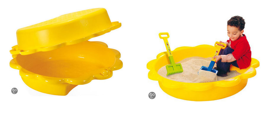 zonnebloem-zandbak-met-deksel